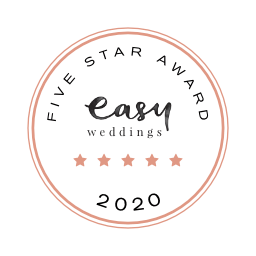 Easy Weddings 5 stars award - Williams Florist